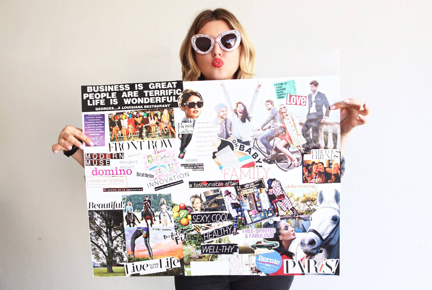 New Year, Better Goals, Get Inspired… Create your own Vision Board